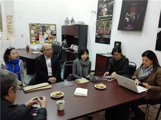 中国乐器协会组团出访美墨考察乐器市场
